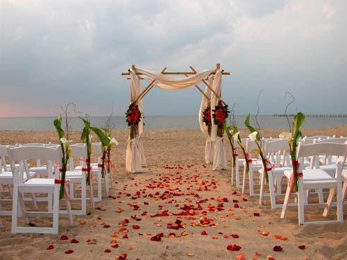Bamboo Arbor DIY Wedding Ideas